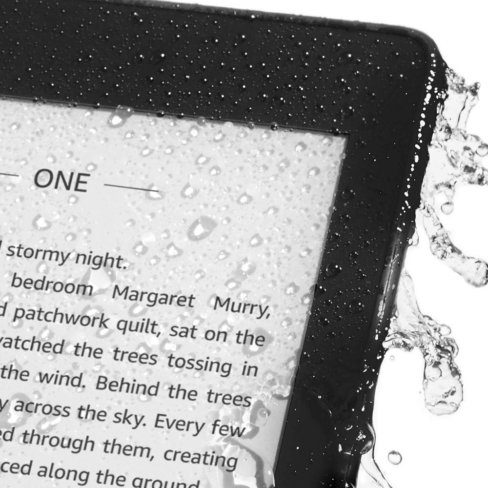 What's New? The waterproof Kindle Paperwhite